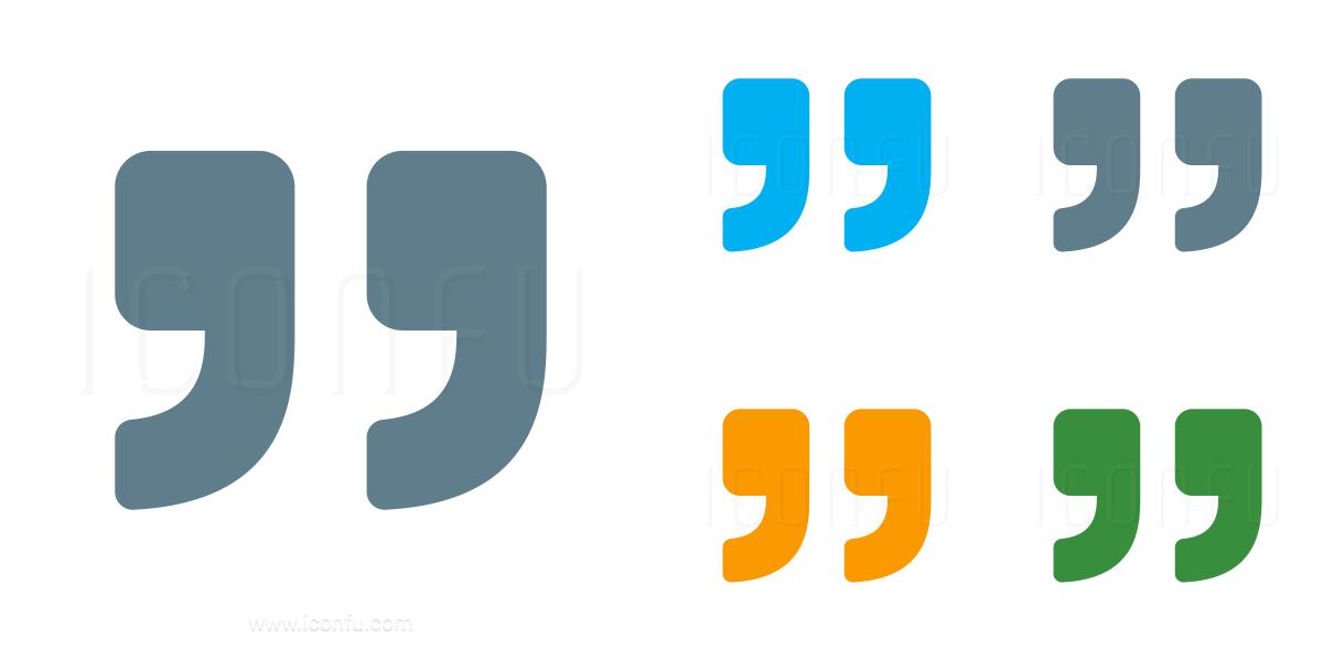 Quotation Mark Right Icon