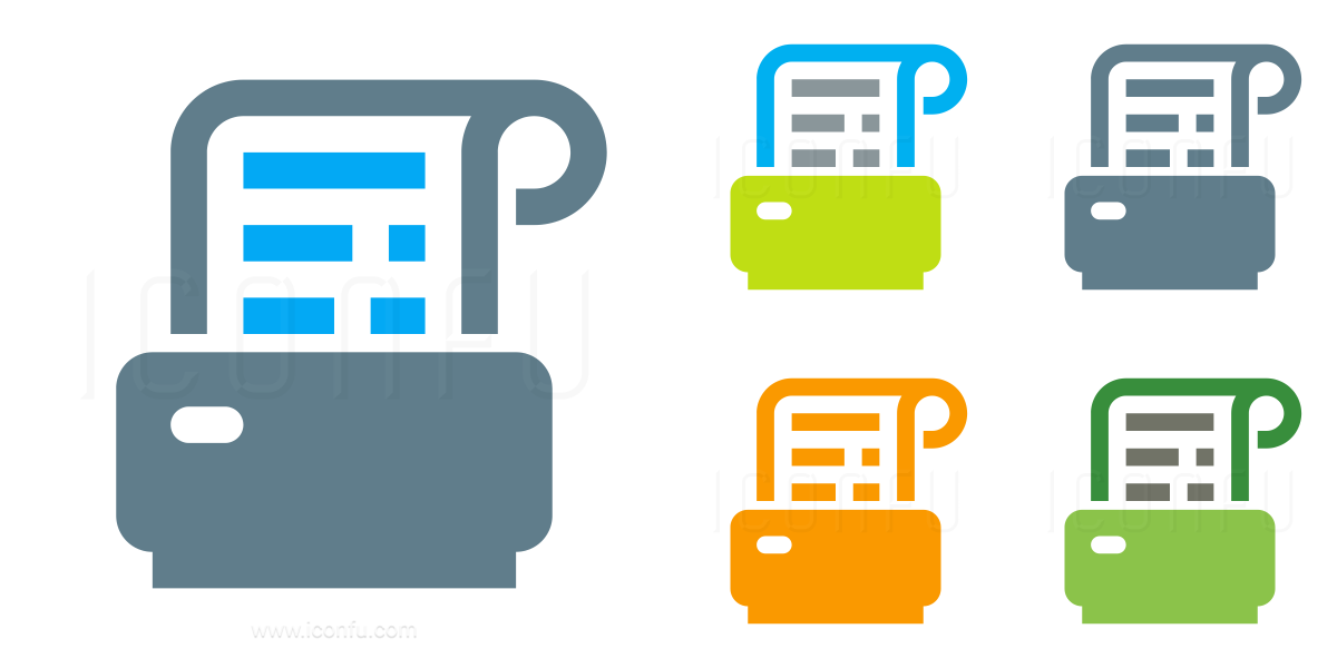 Receipt Printer Icon