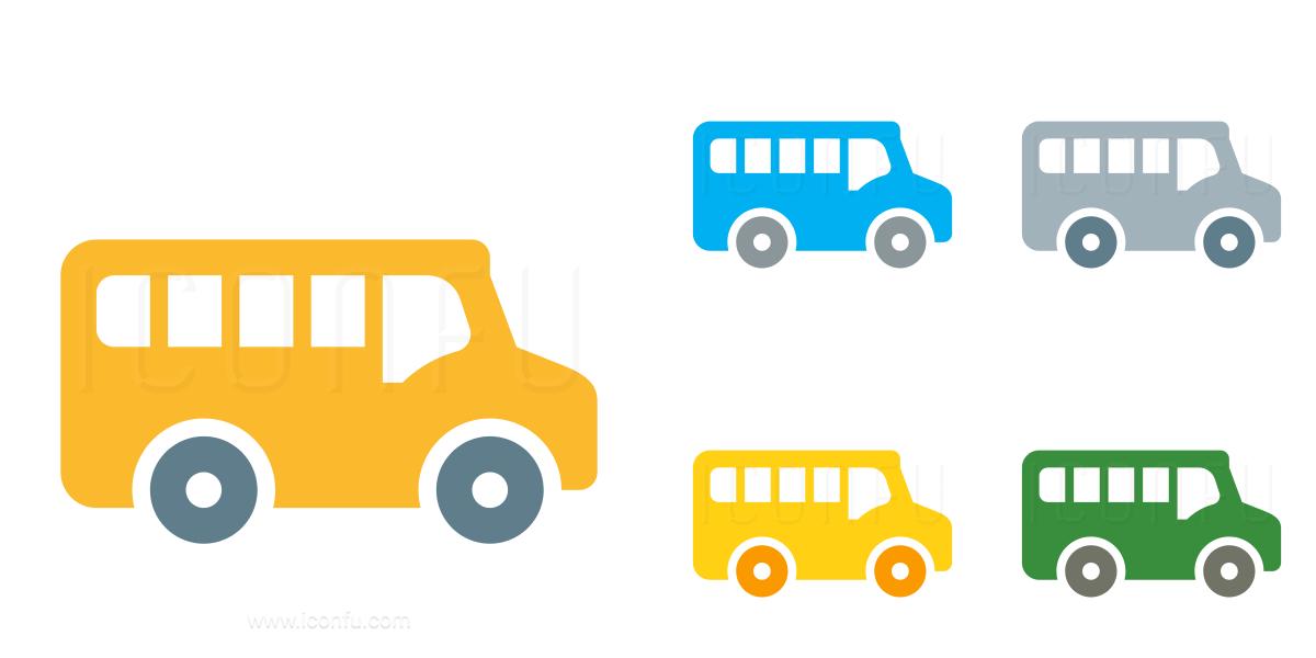 Schoolbus Icon