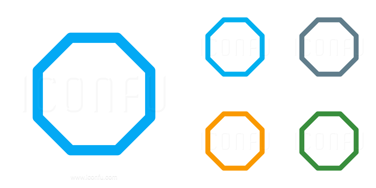 Shape Octagon Icon