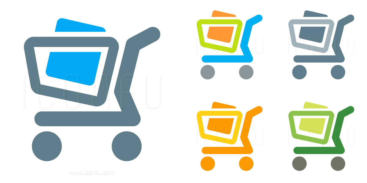 Shopping Cart Full Icon