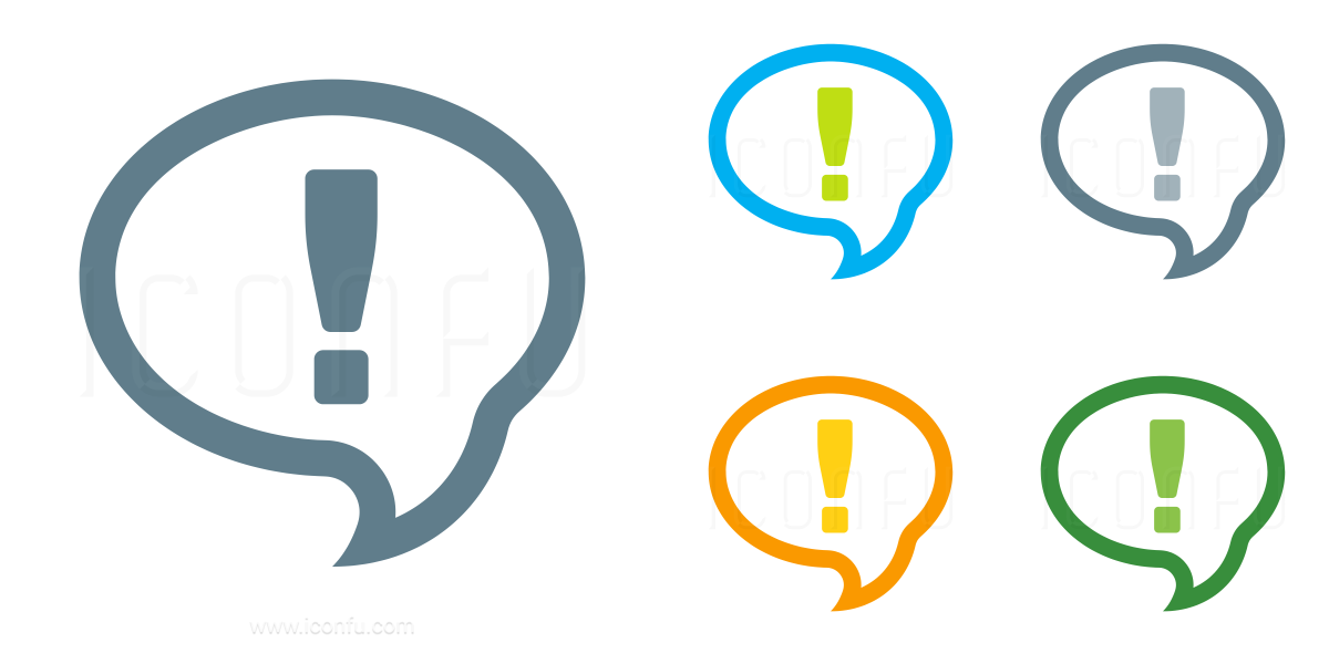 Speech Balloon Answer Icon