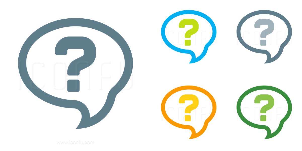 Speech Balloon Question Icon
