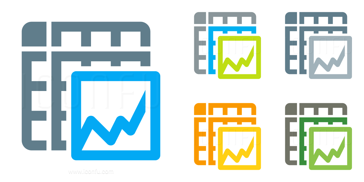 Spreadsheet Chart Icon