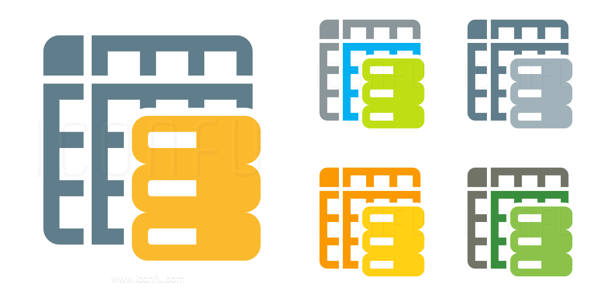 Spreadsheet Data Icon