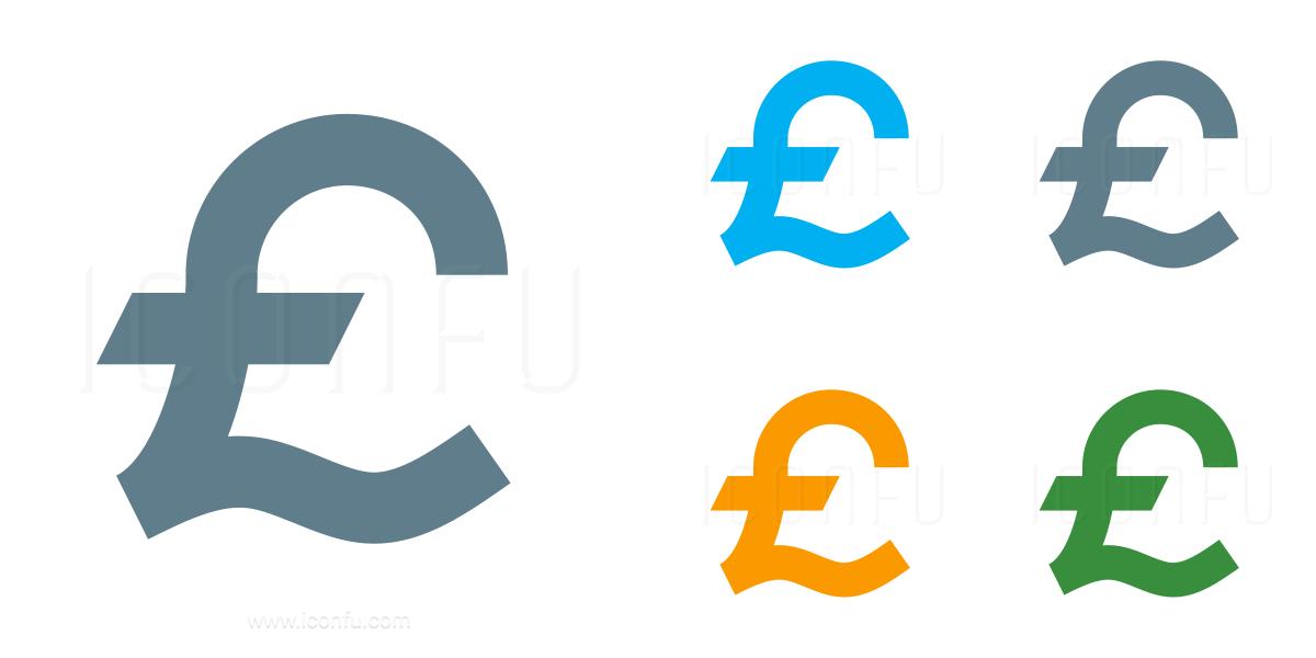 Symbol Pound Icon