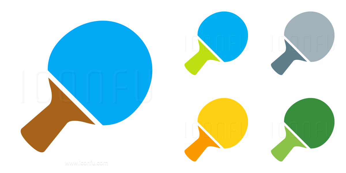 Table Tennis Racket Icon