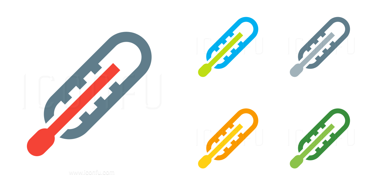 Thermometer Body Icon