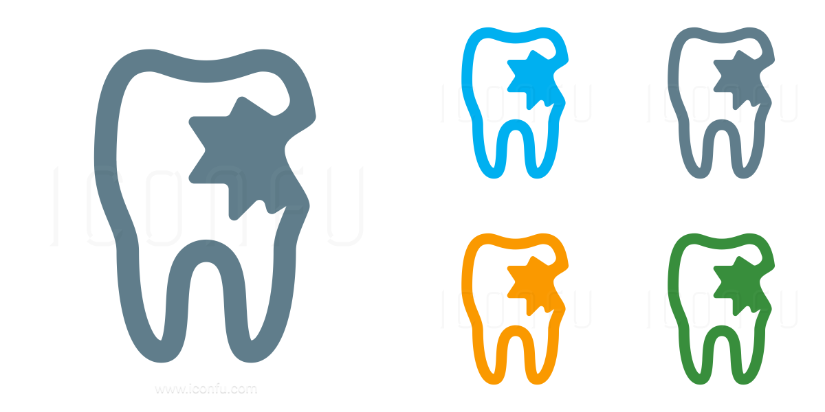 Tooth Carious Icon