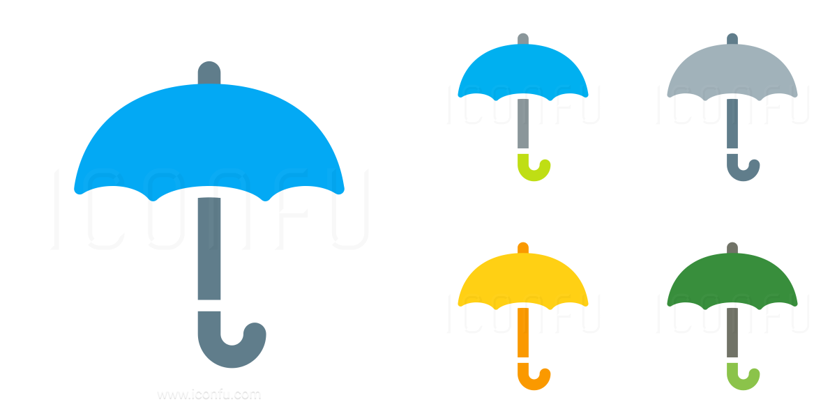 Umbrella Open Icon