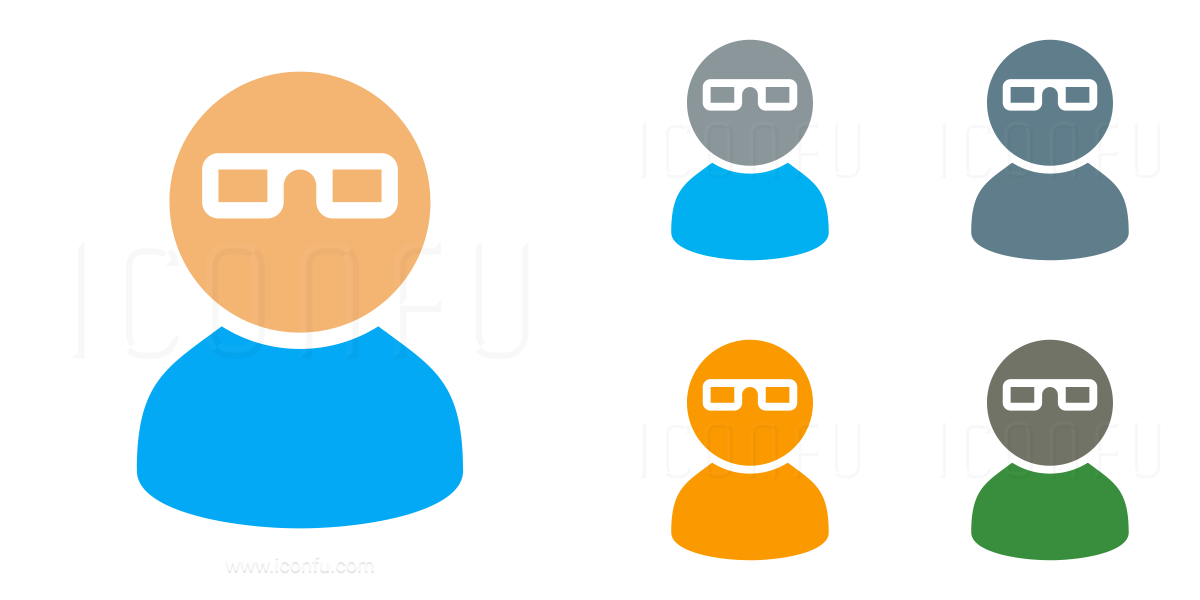 User Glasses Icon