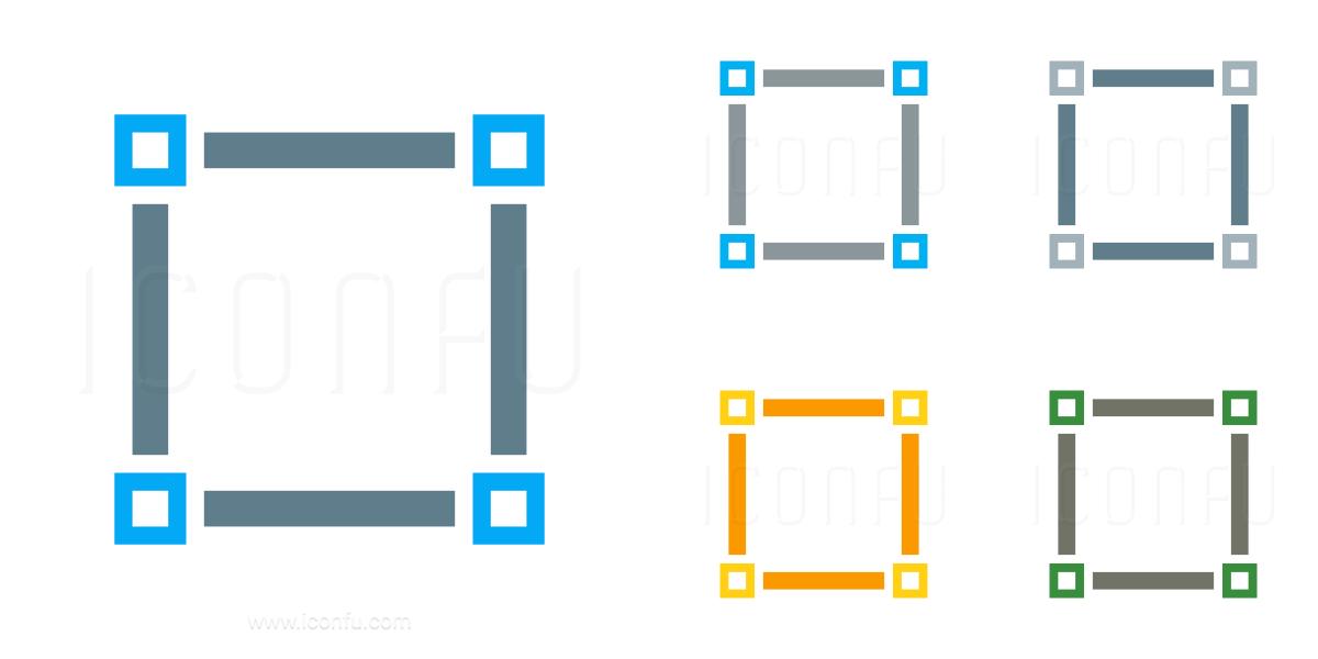 Vector Square Icon
