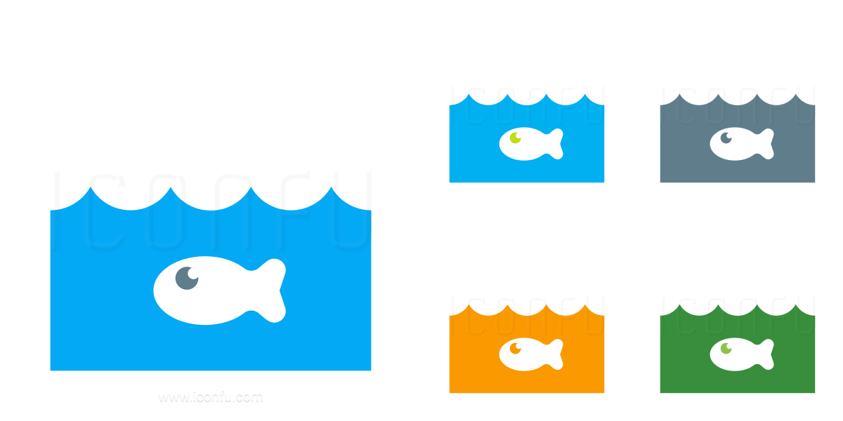 Water Fish Icon