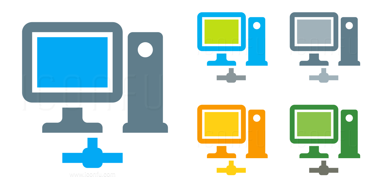 Workstation Network Icon