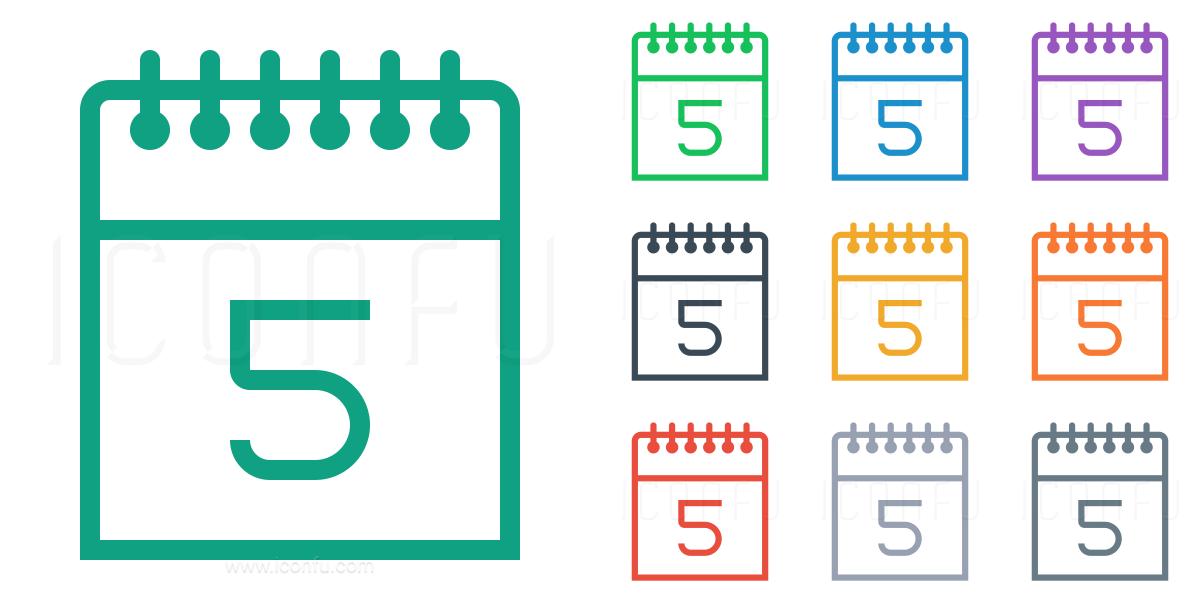 Calendar Days Icon.Calendar 5 Icon Line Style Iconfu
