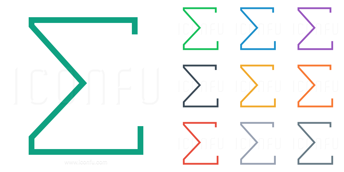 Total Sum Symbol Symbols Free Download